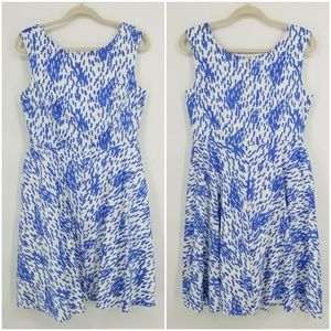 Boden Fit and Flare Cotton Dress Sz 8